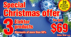 Reminder: Holiday Discounts at Elektor!