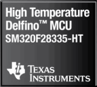 Floating-point MCU operates at up to 210 °C