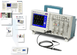 Tektronix launches educational scope series