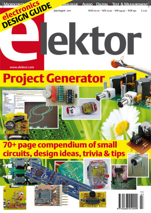 Elektor Project Generator edition 2011 published