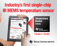 MEMS device revolutionises non-contact temperature sensing