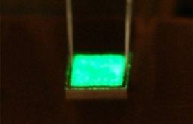 Novel green LED built on silicon substrate