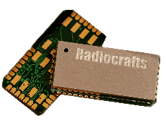 RF module features embedded multiprotocol stack