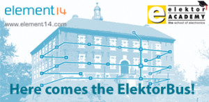 "Coming soon: ""Here comes the Elektor Bus"" webinar"