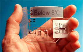 Labels incorporate printed sensor systems