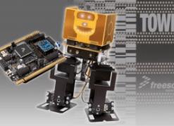 2-Legged Wireless Robot Kit is programmed in BASIC