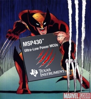 Wolverine Microcontroller Slashes Power Consumption