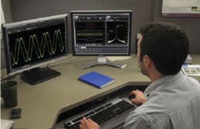 PC Software analyzes Oscilloscope Data
