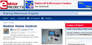 Home Automation on Elektor Projects