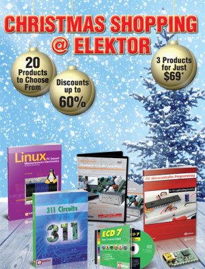 Just Two More Weeks of Festive Savings at Elektor