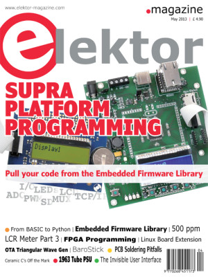 Elektor May 2013 Edition Published