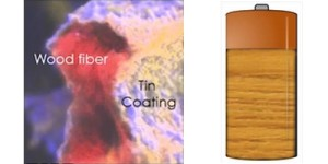 Rechargeable Wooden Battery