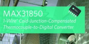 1-Wire Thermocouple-to-Digital Converters Simplify Multisensor Designs