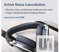Noise Cancellation Driver ICs Feature Zero Audible Hiss