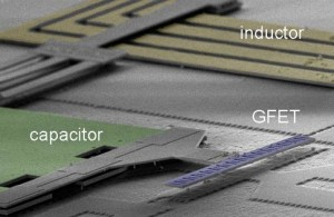 IBM Chip uses Graphene FETs