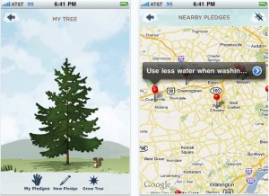 Billion Acts of Green: iPhone App