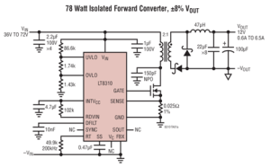 100 V Forward Voltage Controller