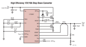 Low-loss Step-down Regulator