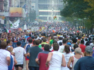 Cleaner Air = Faster Marathons
