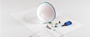 Paper Speaker Demystifies Electronics