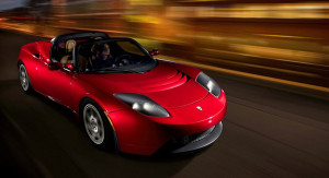 Tesla Roadster / Plug 'n' Party
