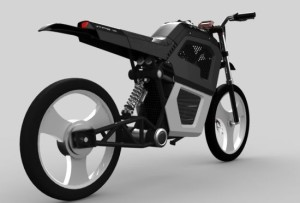 V-Trek Zero Emission Motorcycle