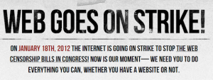 SOPA Shelved. Internet Strike Still On