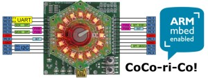 Elektor CoCo-ri-Co board awarded mbed Enabled label