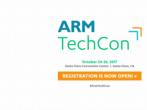 Event: ARM TechCon