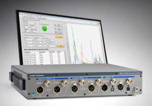 The APx515 Audio Analyzer also available in LabVIEW