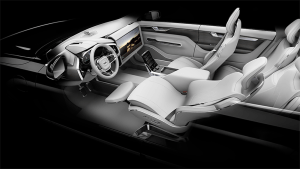 New, the Volvo Nvidia -- delivery in 2021. Image: Volvo