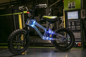 Phantom Frames bike with in-frame dynamic LED lighting