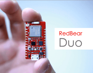The RedBear Duo IoT Dev board