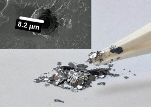 New lithium battery uses waste graphite