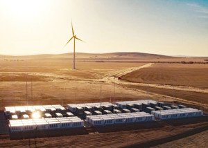 The world's biggest lithium-ion battery goes online