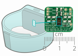 Integrated Pulse Oximeter and Heart-Rate Sensor, for wearable health applications