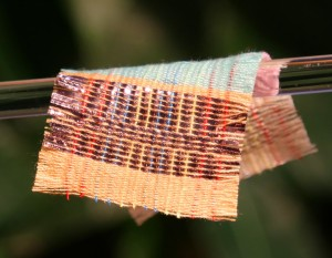 New fabric generates electricity from sun and motion (Image: Georgia Institute of Technology)