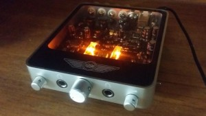 2 x 50-Watt Desktop Valve Amplifier kickstarts. Images: IMS Electronics