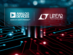 Analog Devices crowdfunds Linear Technology takeover