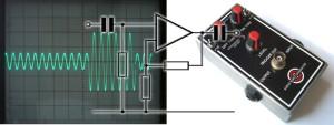 Build an audio burst generator