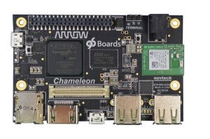 The Chameleon96 board from Arrow Electronics will feature prominently at Embedded World 2017.