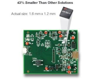 Fairchild USB solutions are tiny