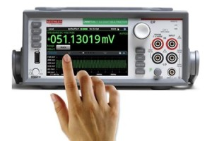 Keithley 7½ digit touch screen DVM