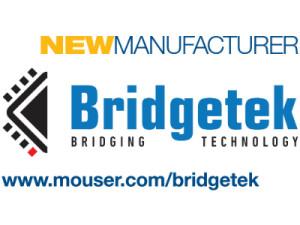 Mouser Signs Global Distribution Agreement with Bridgetek