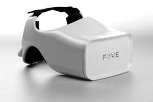 The FOVE VR headset