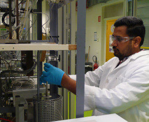 Catalyst for the conversion of carbon dioxide