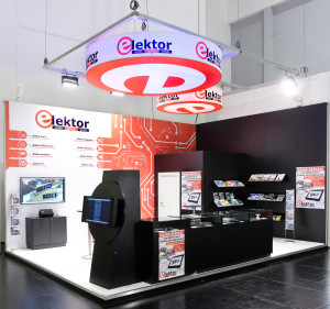 The new-look Elektor stand