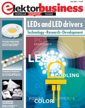 Elektor Business Magazine, Edition LEDs and LED drivers
