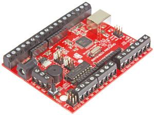 BrainBox Arduino: A ruggedized Arduino with screw terminals