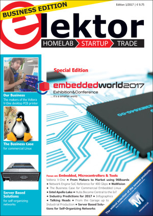 Elektor Business Magazine Edition 1/2017